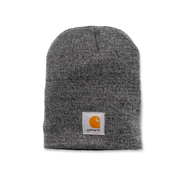 Carhartt - ACRYLIC KNIT HAT OFA GREY/COAL HEATHER
