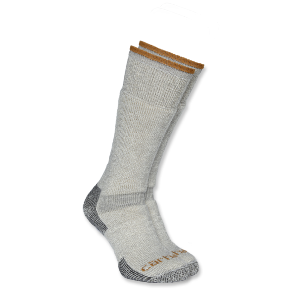 Carhartt - ARCTIC WOOL BOOT SOCK XL HEATHER GREY