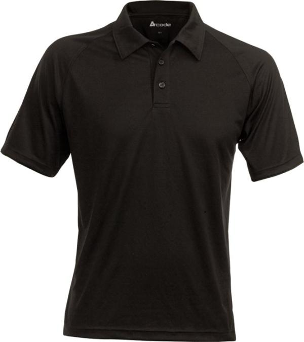 Fristads - Acode CoolPass Poloshirt 1716 COL Schwarz 2XL