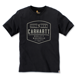 Carhartt - BUILD BY HAND T-SHIRT S/S XXL BLACK