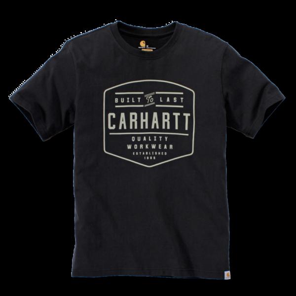 Carhartt - BUILD BY HAND T-SHIRT S/S XXL BLACK