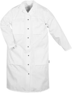 Fristads - Baumwoll-Mantel Damen 163 P92 Weiß 2XL
