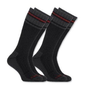 Carhartt - COLD WEATHER THERMAL SOCK 2-PAIR L BLACK