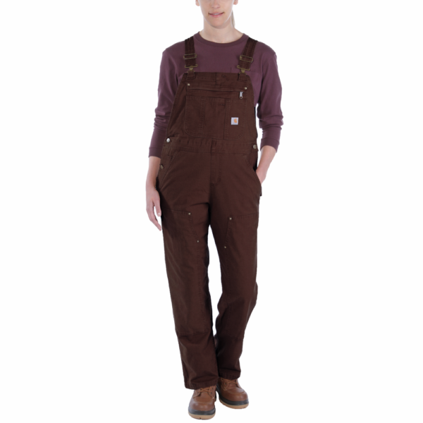 Carhartt - CRAWFORD BIB OVERALL XL DARK BROWN