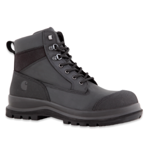 "Carhartt - DETROIT 6"" S3 WORK BOOT BLACK 48"