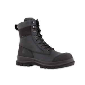 "Carhartt - DETROIT 8"" S3 WATERPROOF HIGH BOOT BLACK 48"