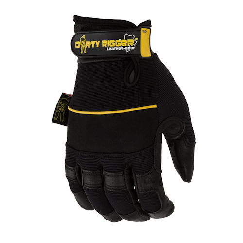 Dirty Rigger - Leather Grip Glove Fullfinger XXL