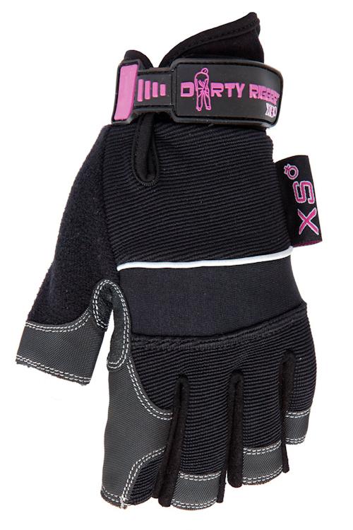Dirty Rigger Ladies Gloves (Fingerless) XXS