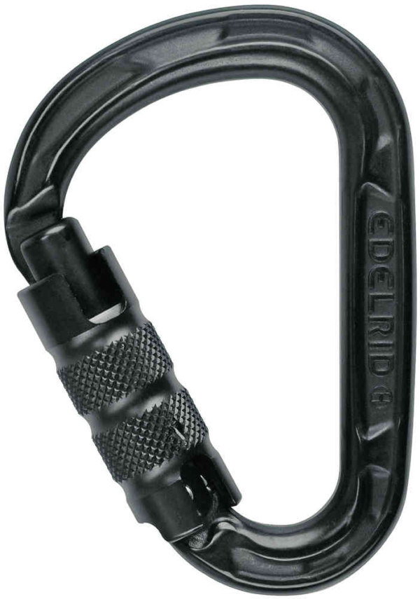 EDELRID HMS Strike Triple-Lock (Black)