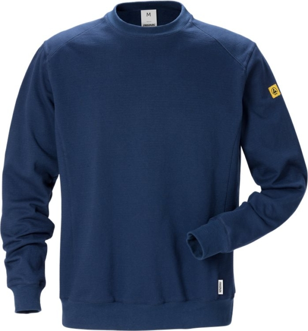 Fristads - ESD Sweatshirt 7083 XSM Dunkelblau 5XL