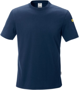 Fristads - ESD T-Shirt 7081 XTM Dunkelblau 5XL