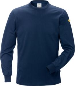 Fristads - ESD T-Shirt Langarm 7082 XTM Dunkelblau 5XL