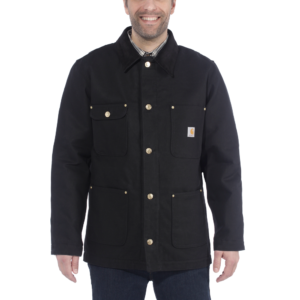 Carhartt - FIRM DUCK CHORE COAT XXL BLACK