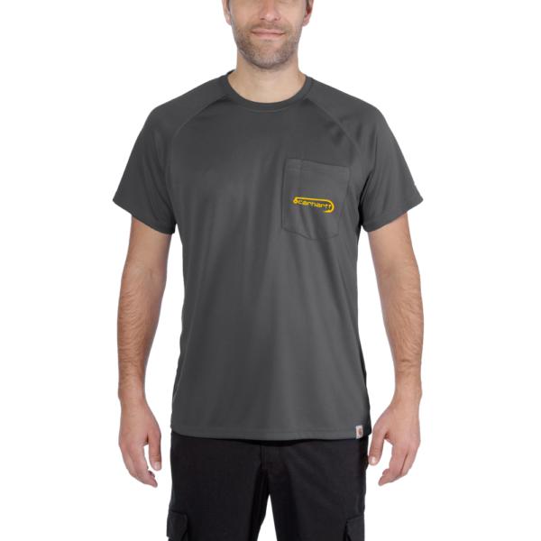 Carhartt - FISHING T-SHIRT S/S XXL SHADOW
