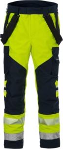 Fristads - Flamestat High Vis GORE-TEX PYRAD® Hose Kl. 2 2095 GXE Warnschutz-Gelb/Marine 3XL