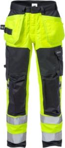 Fristads - Flamestat High Vis Stretch-Handwerkerhose, Kl. 2 2167 ATHF Warnschutz-Gelb/Marine D116