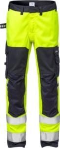 Fristads - Flamestat High Vis Stretchhose, Kl. 2 2161 ATHF Warnschutz-Gelb/Marine D116