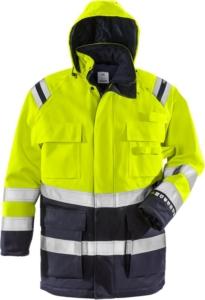 Fristads - Flamestat High Vis Winterparka Kl. 3 4086 ATHR Warnschutz-Gelb/Marine 3XL