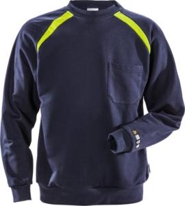 Fristads - Flamestat Sweatshirt 984 SFLA Dunkelblau 3XL