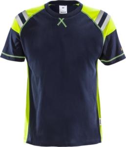 Fristads - Flamestat T-Shirt 7073 TFLH Dunkelblau 3XL