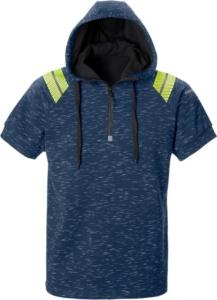 Fristads - Friwear Kapuzen-Sweatshirt 7460 MELA Blau 3XL