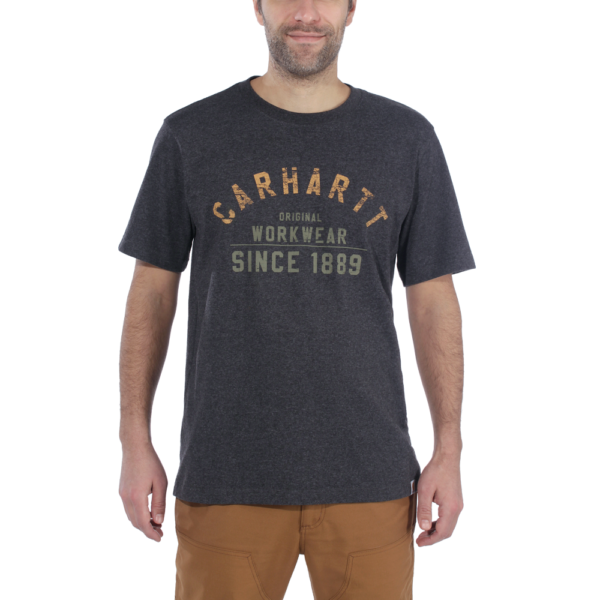 Carhartt - GRAPHIC T-SHIRT S/S XXL CARBON HEATHER