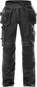 Fristads - Handwerker-Jeans 229 DY Schwarz D120