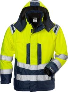 Fristads - High Vis Airtech® Winterjacke Damen Kl. 3 4037 GTT Warnschutz-Gelb/Marine 3XL
