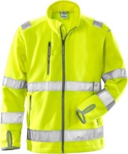 Fristads - High Vis Fleecejacke Kl. 3 4400 FE Warnschutz-Gelb 3XL