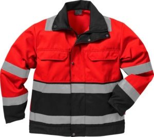 Fristads - High Vis Jacke Kl. 3 4794 TH Warnschutz-Orange/Marine 3XL