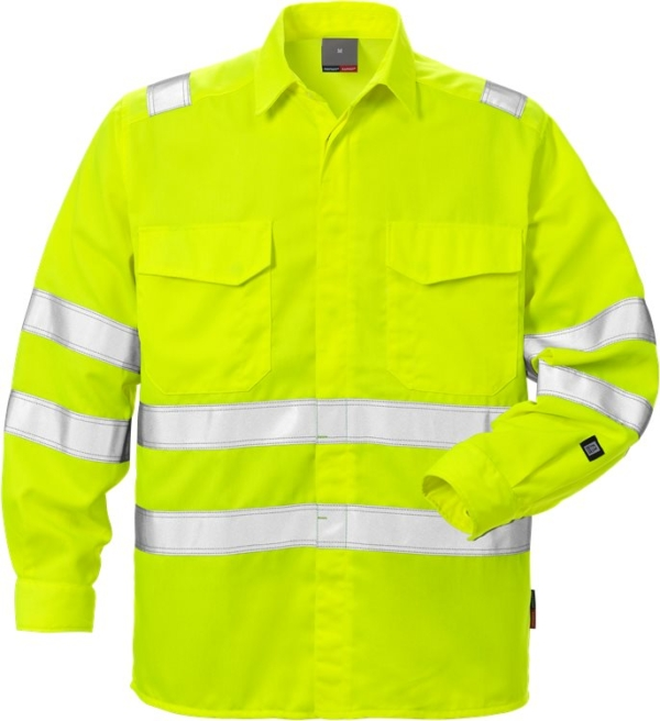Fristads - High Vis Shirt Kl. 3 7049 SPD Warnschutz-Gelb 4XL