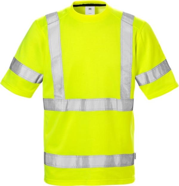 Fristads - High Vis T-Shirt 7024 Kl. 3 THV Warnschutz-Gelb 4XL