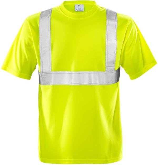 Fristads - High Vis T-Shirt Kl. 2 7411 TP Warnschutz-Gelb 3XL