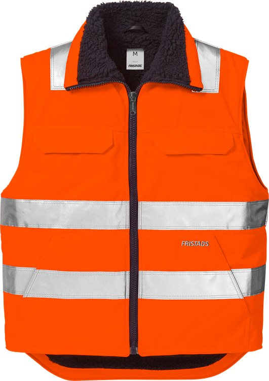 Fristads - High Vis Winterweste Kl. 2 5304 PP Warnschutz-Orange 2XL