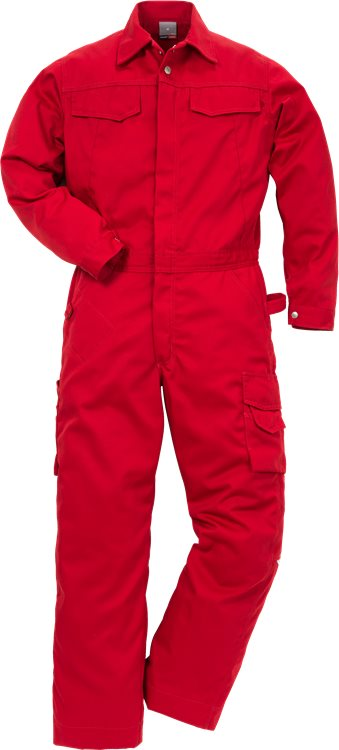 Fristads - Icon One Overall 8111 LUXE Rot 2XL/TALL