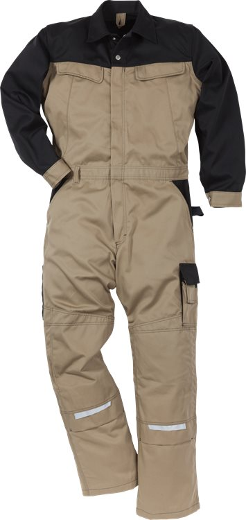 Fristads - Icon Two Overall 8612 LUXE Khaki/Schwarz XL/TALL