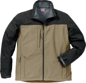 Fristads - Icon Two Softshell-Jacke 4119 SSR Khaki/Schwarz 4XL