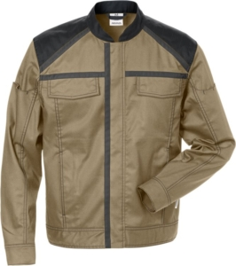 Fristads - Jacke 4555 STFP Khaki/Schwarz 4XL