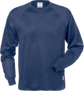 Fristads - Langarm-T-Shirt 7071 THV Blau 3XL