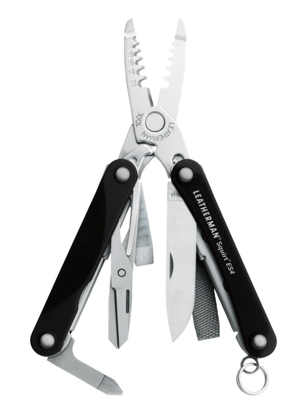 Leatherman - SQUIRT® ES4 Black (Key Chain Tool)