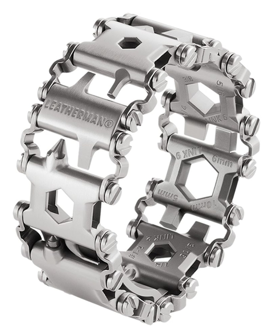 Leatherman - TREAD METRIC MULTI-TOOL BRACELET SILVER