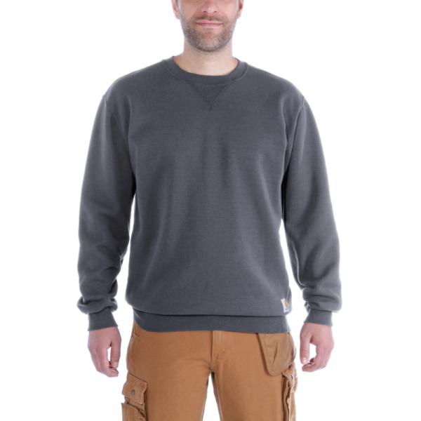 Carhartt - MIDWEIGHT CREWNECK SWEATSHIRT XXL CARBON HEATHER