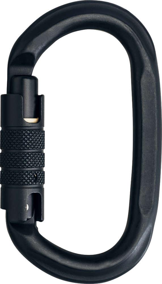 Edelrid - Oval Power 2400 Triple-Lock (Black)