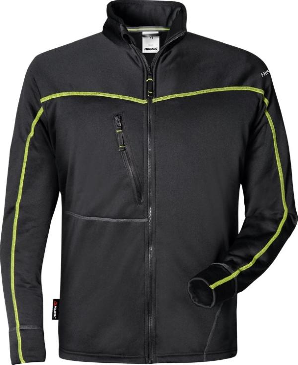 Fristads - Polartec® Sweatjacke 792 PY Schwarz 4XL