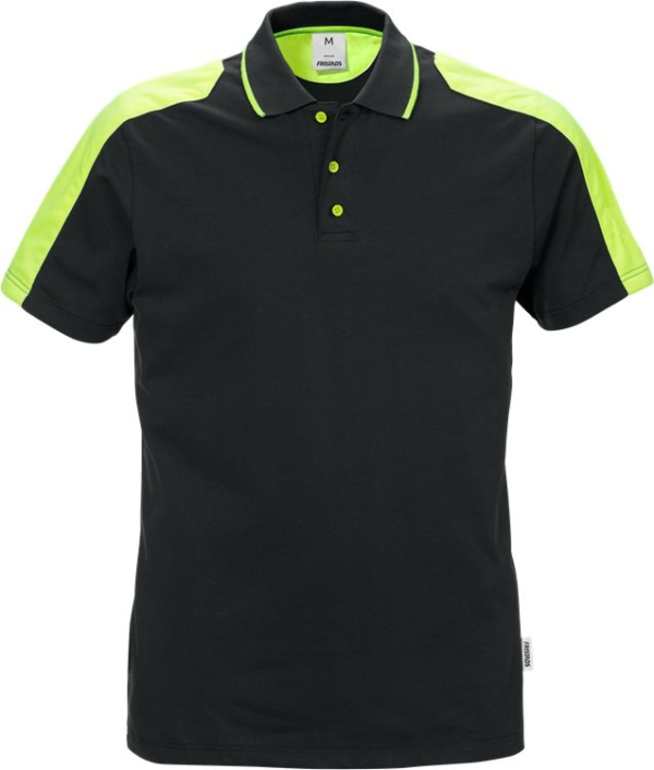 Fristads - Poloshirt 7448 RTP Schwarz 3XL