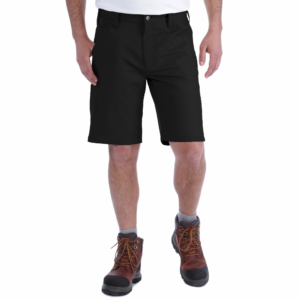 Carhartt - RUGGED STRETCH CANVAS SHORT W42 BLACK