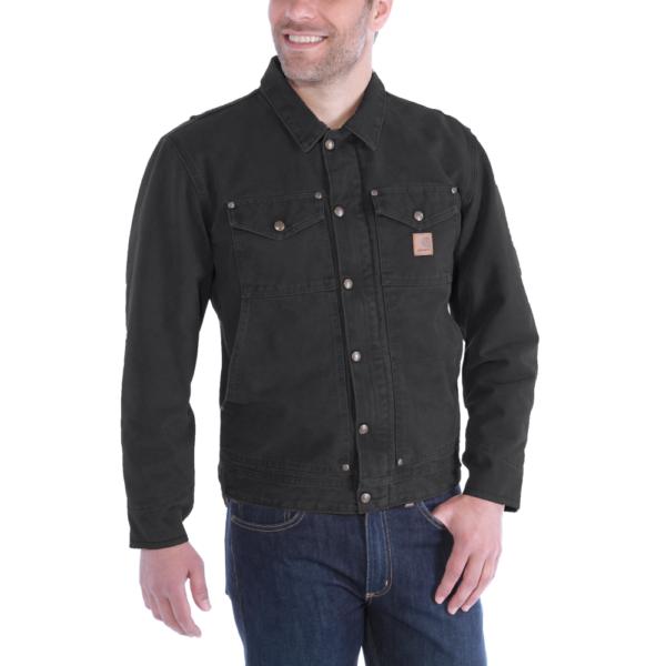 Carhartt - SANDSTONE BERWICK JACKET XL BLACK