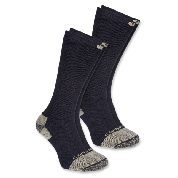Carhartt - STEEL TOE BOOT SOCK 2-PAIR L BLACK