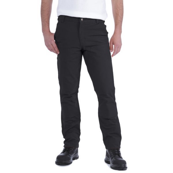 Carhartt - STRETCH DUCK DOUBLE FRONT W42/L32 BLACK