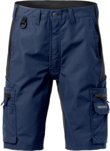 Fristads - Service Stretch-Shorts 2702 PLW Marine/Schwarz C66
